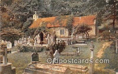 chr001017 - Churches Vintage Postcard