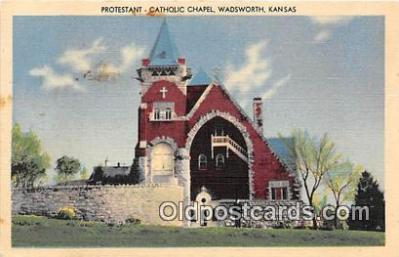chr001020 - Churches Vintage Postcard