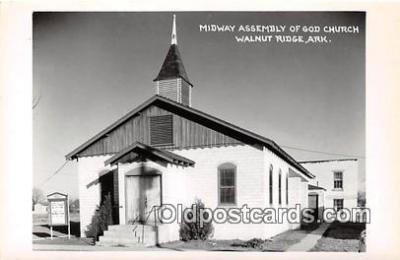 Real Photo - Midway Assembly of God Church