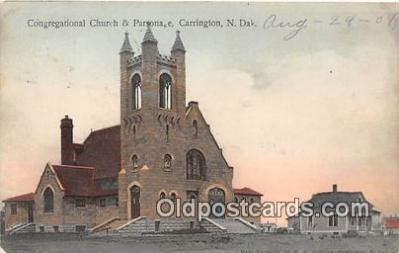chr001034 - Churches Vintage Postcard