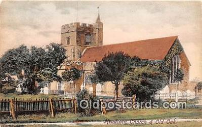 chr001038 - Churches Vintage Postcard