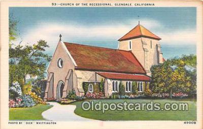 chr001046 - Churches Vintage Postcard
