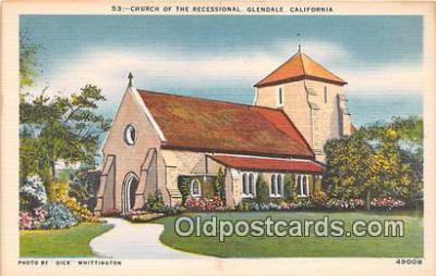 chr001048 - Churches Vintage Postcard