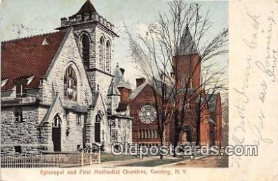 Episcopal & First Methodist Churches