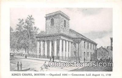 chr001074 - Churches Vintage Postcard