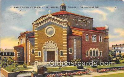 chr001076 - Churches Vintage Postcard
