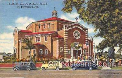 chr001086 - Churches Vintage Postcard