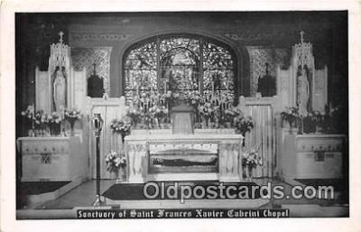 Sanctuary of Saint Frances Xavier Cabrini Chapel
