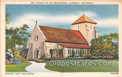 chr001111 - Churches Vintage Postcard