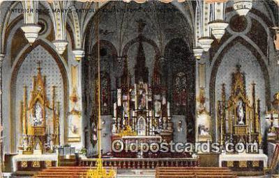 chr001114 - Churches Vintage Postcard