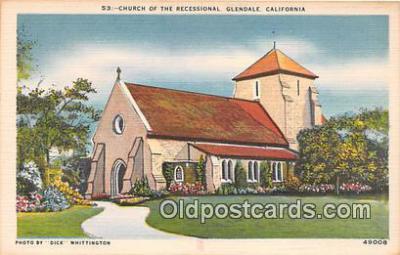 chr001121 - Churches Vintage Postcard