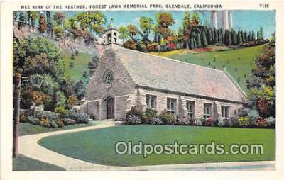 chr001134 - Churches Vintage Postcard