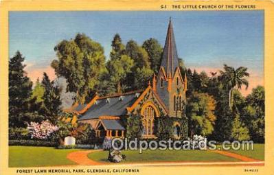 chr001136 - Churches Vintage Postcard