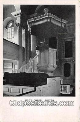 chr001141 - Churches Vintage Postcard