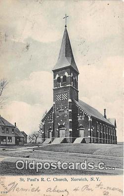 chr001162 - Churches Vintage Postcard