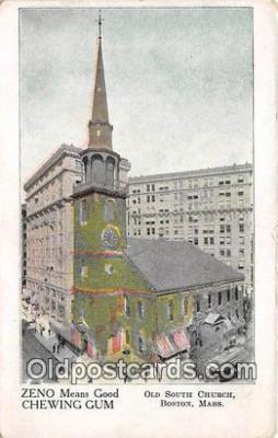 chr001168 - Churches Vintage Postcard