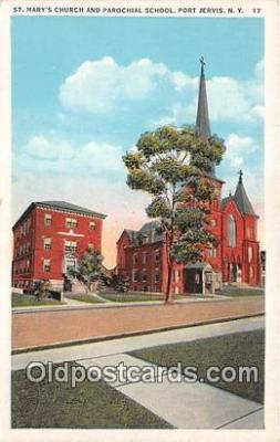 chr001170 - Churches Vintage Postcard