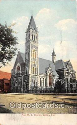 chr001199 - Churches Vintage Postcard