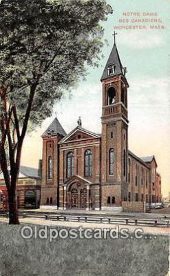 chr001217 - Churches Vintage Postcard