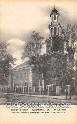 chr001218 - Churches Vintage Postcard