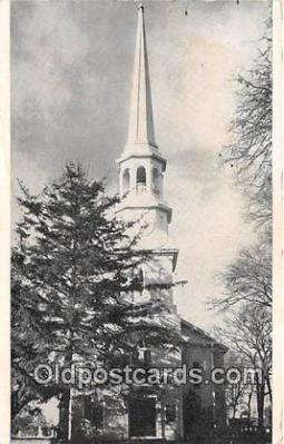 chr001224 - Churches Vintage Postcard