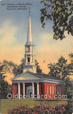 chr001227 - Churches Vintage Postcard