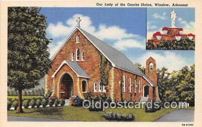 chr001288 - Churches Vintage Postcard