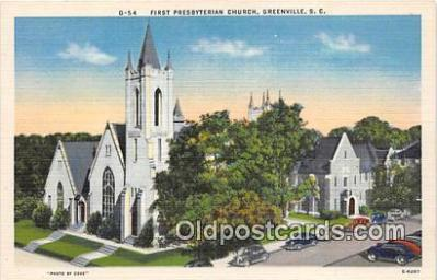 chr001324 - Churches Vintage Postcard