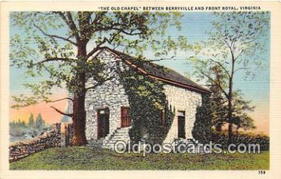 chr001330 - Churches Vintage Postcard