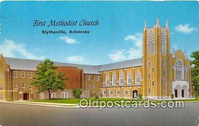 chr001338 - Churches Vintage Postcard