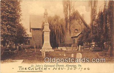 chr001350 - Churches Vintage Postcard