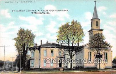 chr001358 - Churches Vintage Postcard