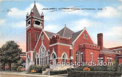 chr001387 - Churches Vintage Postcard