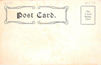 cir003413 - Circus Post Card, Old Vintage Antique Postcard  back