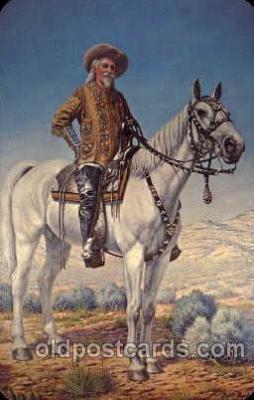cir005015 - Buffalo Bill (Col. Wm F. Cody) Postcard