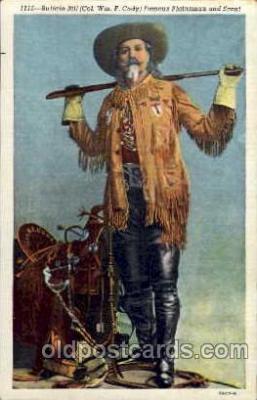 cir005018 - Buffalo Bill (Col. Wm F. Cody) Postcard