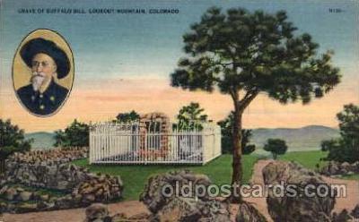 cir005024 - Buffalo Bill (Col. Wm F. Cody) Postcard