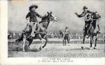 cir005028 - Buffalo Bill (Col. Wm F. Cody) Postcard