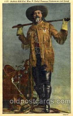 cir005083 - Buffalo Bill's Wild West Postcard Post Card