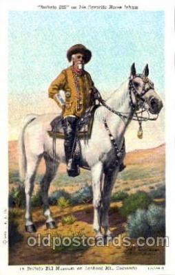 cir005090 - Colonel W.F. Cody, Buffalo Bill, Barnum & Bailey Circus, Postcard Post Card