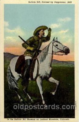 cir005100 - Circus Buffalo Bill Postcard Post Card