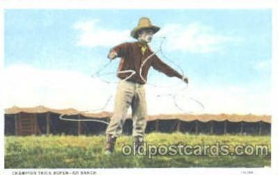 cir005109 - 102 Ranch, Buffalo Bill's Wild West Circus Postcard Post Card