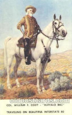 cir005133 - Buffalo Bill's Wild West Circus Postcard Post Card