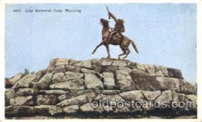 Cody Memorial, Wyoming