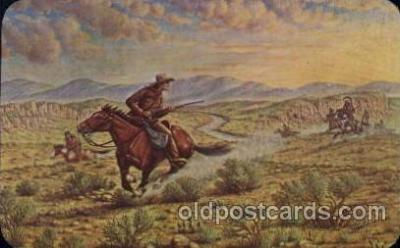 cir005192 - Memorial Museum Circus, Buffalo Bill's Wild West Postcard Post Card