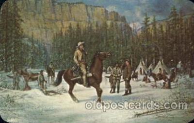 cir005194 - Memorial Museum Circus, Buffalo Bill's Wild West Postcard Post Card