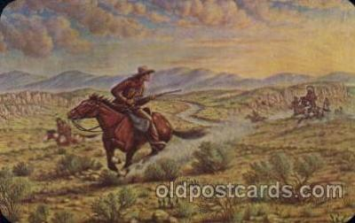 cir005195 - Memorial Museum Circus, Buffalo Bill's Wild West Postcard Post Card