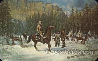 cir005196 - Memorial Museum Circus, Buffalo Bill's Wild West Postcard Post Card