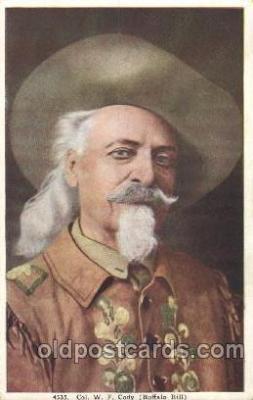 cir005199 - Circus, Buffalo Bill's Wild West Postcard Post Card