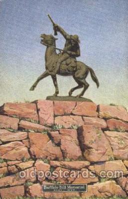 cir005206 - Memorial Circus, Buffalo Bill's Wild West Postcard Post Card